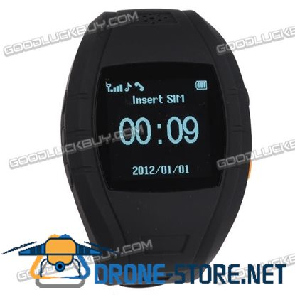 "HC618 GPS Watch Tracker 1.5"" LCD GSM / GPS Personal Position Tracker Wrist Watch"