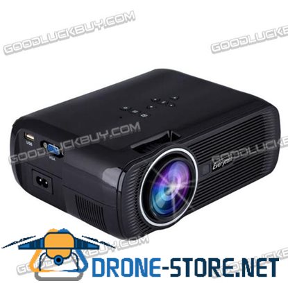 7000 Lumens FULL HD 1080P Home Cinema Theater LED LCD 3D Projector HDMI 1280x800 EC-X7