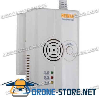 HM-710NS-AC Independent Indoor Gas Leakage Detector Semiconductor Sensor Detector