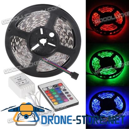Strip Light with 24 Key Infrared Aduio Sound Music LED Controller