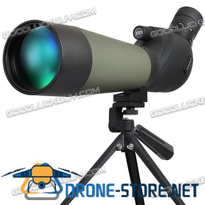 SUNCORE 20-60x80 Zoom Bird Spotting Scope Telescope W/ Tripod for Hunting Bird Wildlife