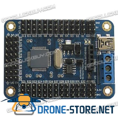 16 Channels Servo Motor USB UART Controller Driver Board for ROBOT