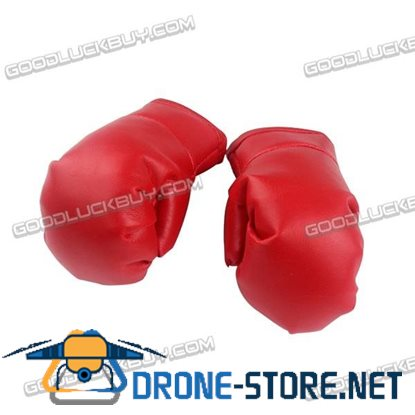 MAGIC-Q Humanoid Robot Leather Boxing Fighting Gloves Red 1 Pairs