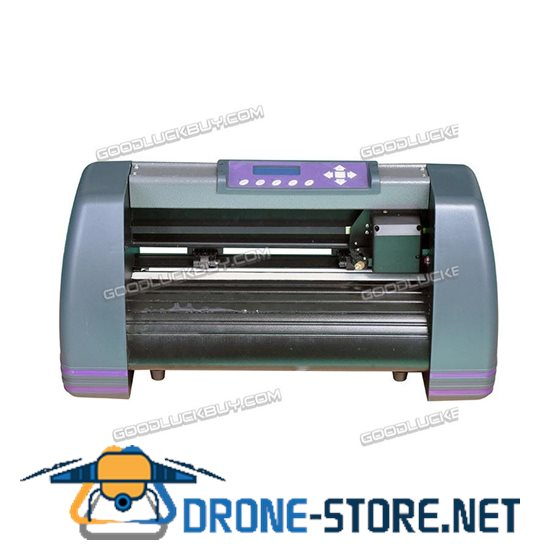 New MH365 Refine Vinyl Cutter Plotter Sign Writing Cutting Carving Machine Grey