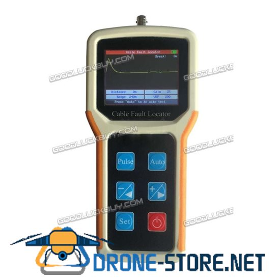 S-600A Waveform Display Cable Fault Locator 4Km CCTV BNC Cable TDR CFL