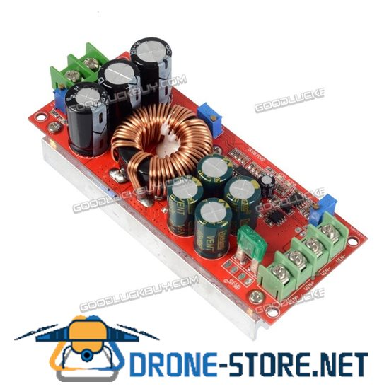 1200W 20A DC Converter Boost Step-up Power Step up Module 8-60V to 8-83V
