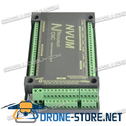 5-Axis Controller USBMACH3 Interface Board Card CNC 200KHz for Stepper Motor NVUM3/NVUM4/NVUM5/NVUM6