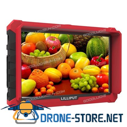 "LILLIPUT 7"" Model A7s 4K HDMI 1.4 30Hz Field Monitor w/ F970 battery Plate"