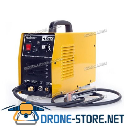 CT312 120A 3IN1 ARC Digital TIG/MMA Welding Machine 30A Plasma Cutter Yellow