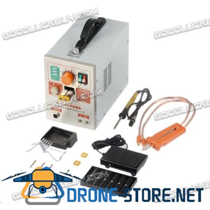 60A2 in 1 Pulse Battery Spot Welder Soldering Welding Machine 709A 1.9KW