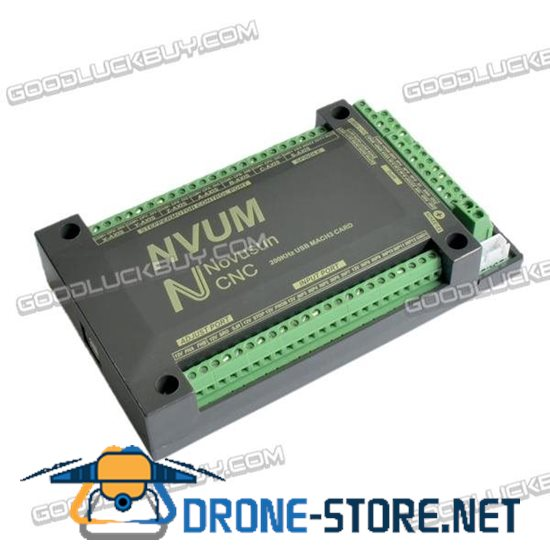 6-Axis Controller USBMACH3 Interface Board Card CNC 200KHz for Stepper Motor NVUM3/NVUM4/NVUM5/NVUM6