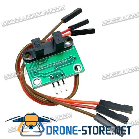 Smart Robot Car Optoelectric Motor Speed Measurement Sensor Switch Counter Module