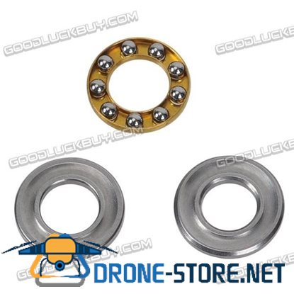 Miniature Flanged Axial Ball Thrust Bearing F10-18M 10*18*5.5mm 5pcs
