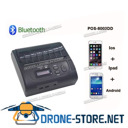 POS-8002DD 80mm Bluetooth Wireless POS Thermal Receipt Printer for Andorid iOS Windows