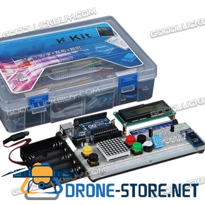 Ardui no Learning Kit UNO R3 Main Board with Buzzer LED Photoresistor