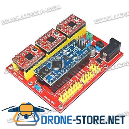 3D Printer Nano CNC Shield V4 Expansion Board & A4988 Driver Combo