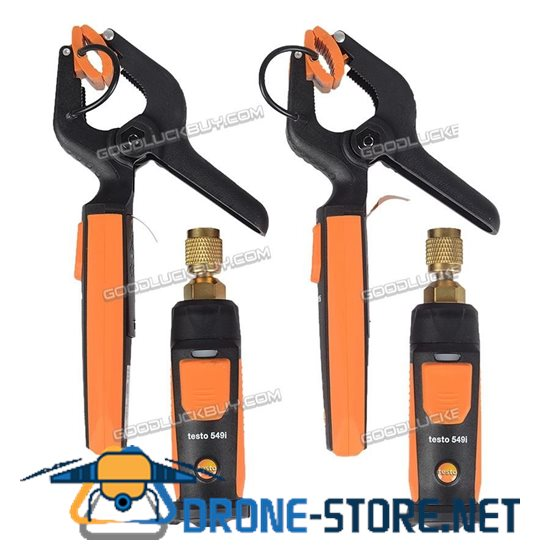Testo 0563 0002 Refrigeration Smart & Wireless Probe Kit 549i & 115i