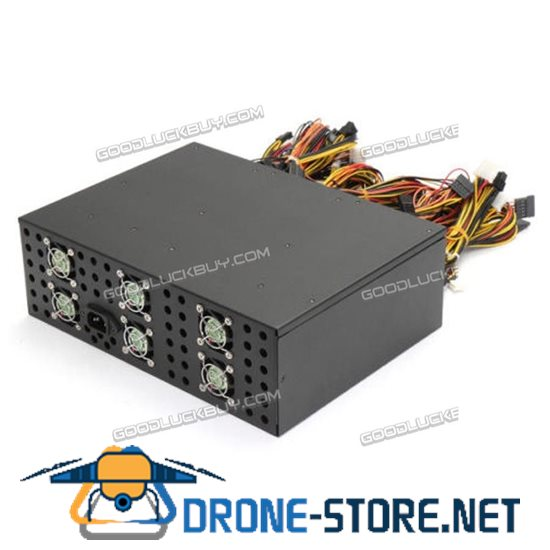 3000W Power Supply for 12 GPU ETH RIG Ethereum Coin Mining Miner
