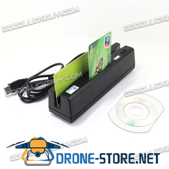 ZCS160 4-in-1 USB Magnetic Stripe Card Reader + EMV/IC Chip/RFID/PSAM Reader