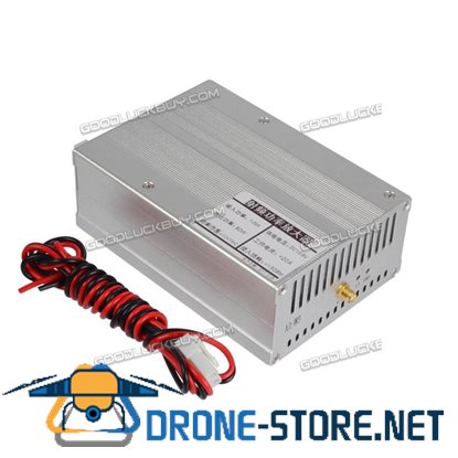 80W DMR DPM RP25 C4FM UHF 410-470MHZ Ham Radio Power Amplifier Interphone