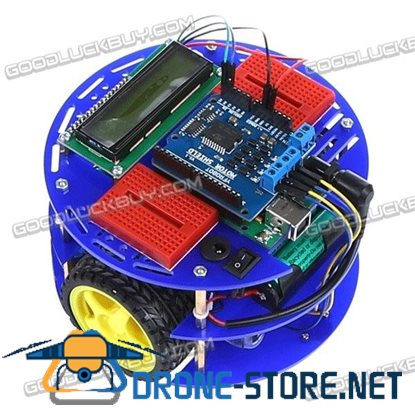 Robot-M Smart Mobile Car Robot Kit for Expansion Open Source Platform Learning