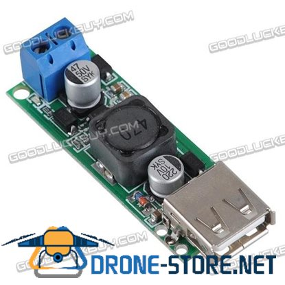 6-35V to 5V 3A DC/DC Power Converter Voltage Regulation Module Single USB Port