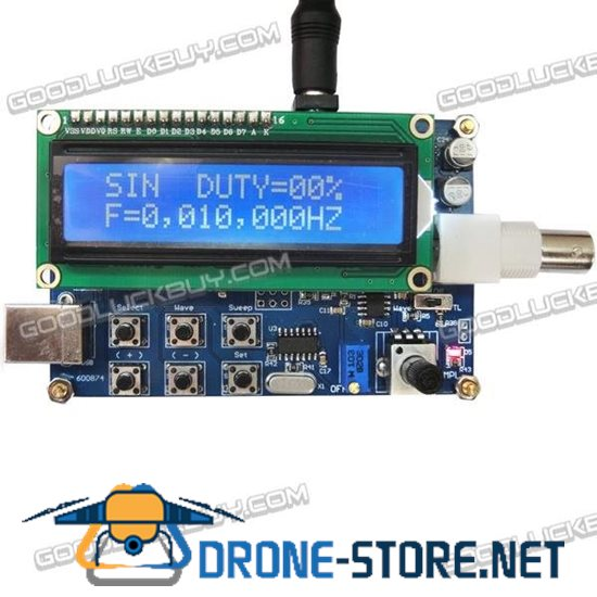 MWG05 1Hz-5MHz DDS Signal Generator Source Module TTL Output with Sweep Scan