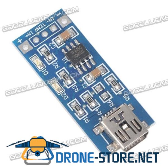 Mini USB TP4056 1A Lipo Battery Charging Module Charger