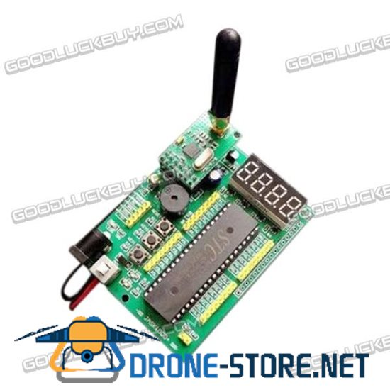STC89C52 Wireless Development Board Kit  for NRF905 Studying with USB Port 2 Pack