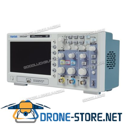 DSO5202P 2Channels 7'' TFT LCD 800x480 USB Digital Oscilloscope 1GS/s 200MHz