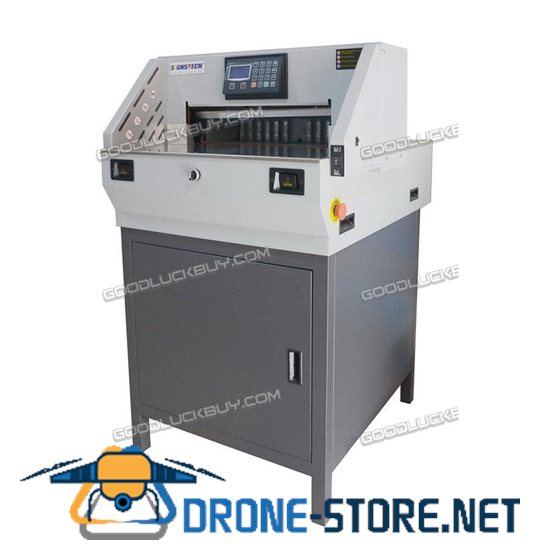 """18"""" Paper Guillotine Cutter Cutting Machine Programmable Trimmer 460mm Economic"""