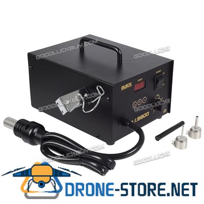 QUICK 990D Digital Hot Air Soldering Rework SMD Station Solder Welding Machine