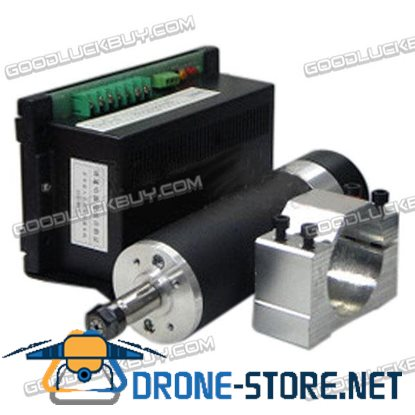 LD57GF-600W High Speed Main Spindle Motor for CNC Engraving Machine with Speed Controller