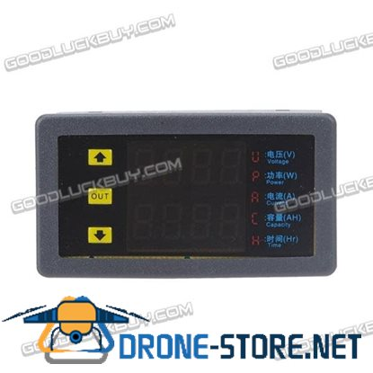 VAM9020 DC Digital LED Dual Display Voltmeter Ampere Meter Ammeter