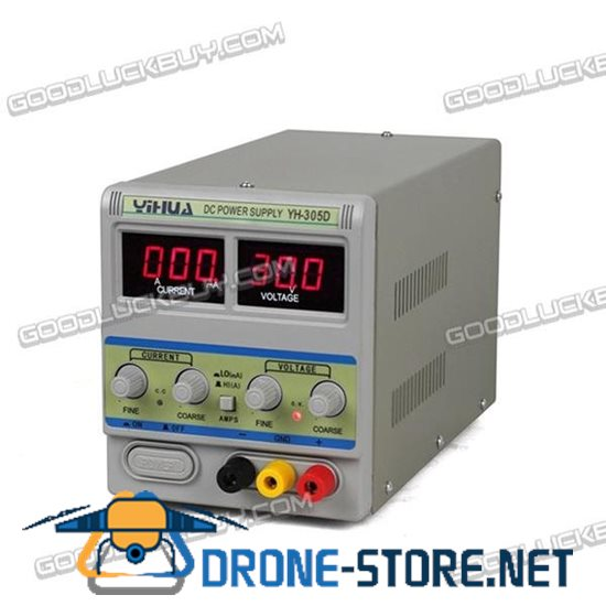 YIHUA 305D 30V 5A Adjustable DC Power Supply Precision Lab Variable Regulator 220V