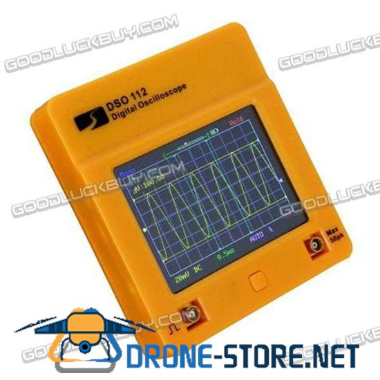 DSO112 Color 2.4'' LCD Touch Screen Portable Digital Oscilloscope 2MHz