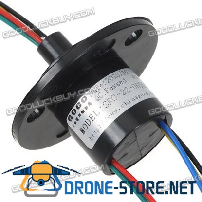 SRC-22-0605A 6Circuit/5A Slip Ring 300RPM Conducting Slip Ring Conductor