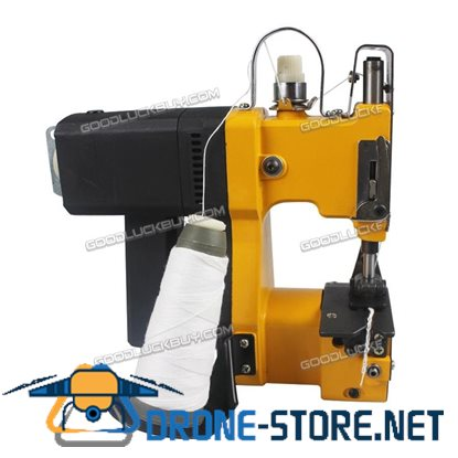 GK9-890 Portable Electric Bag Stitching Sack Closer Seal Sewing Machine Yellow