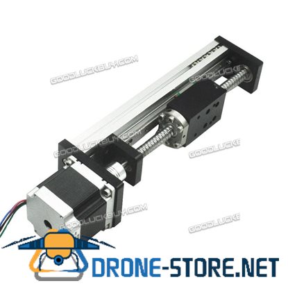 Threaded Rod Linear Guide Rail with Motor and Ball Screw for CNC Linear Actuator 150MM
