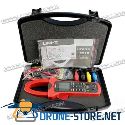 UNI-T UT233 Digital Power Factor Clamp Meter Multimeter True RMS AC Value USB