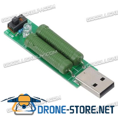 5V 1A/2A USB Loading Resistance Module for Power Bank Current Measurement