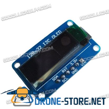 0.91inch 128*32 OLED Module I2C Interface Single Color SSD1306 Drive