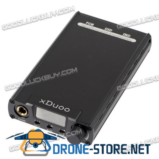 xDuoo XD-05 32bit  384KHz DSD DAC Portable Audio Headphone AMP Amplifier w/ OLED Display Black