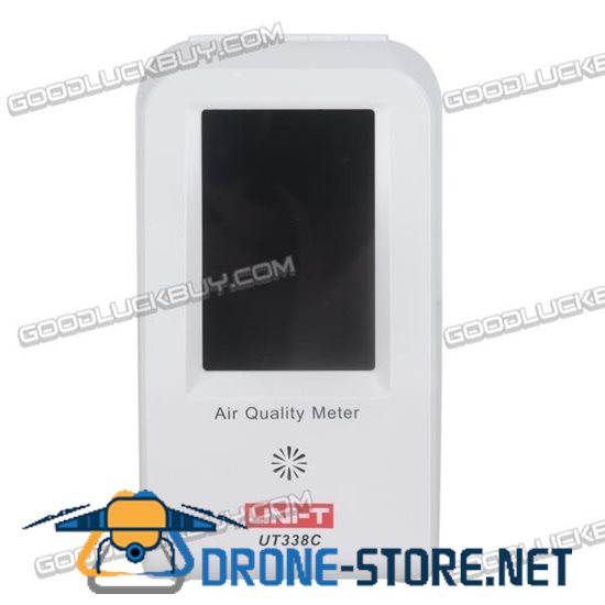 UNI-T UT338C PM2.5 Air Quality Detector Formaldehyde Monitor Haze Dust VOC 0~500