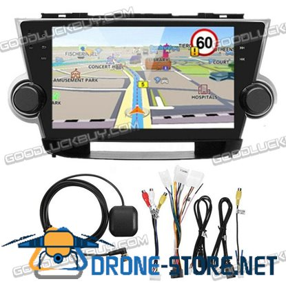 "10.2"" Android 5.1 Car Stereo Radio GPS Navigation for Toyota Highlander 2009-13"