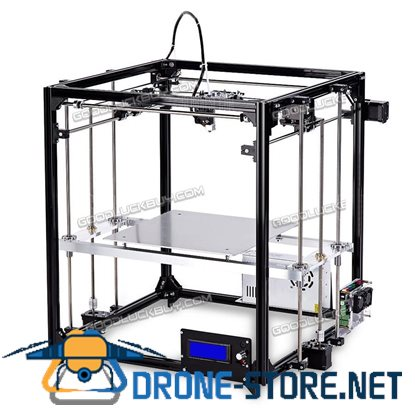 New 26*26CM Flsun Cube 3D Printer Heated Bed Auto-level DIY Kit