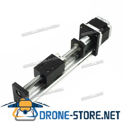 Threaded Rod Linear Guide Rail with Motor and Ball Screw for CNC Linear Actuator 100MM