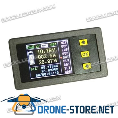 VAC1100A LCD Display 120V 100A Digital Voltage Current Meter Ammeter Voltmeter Diagnostic Tool