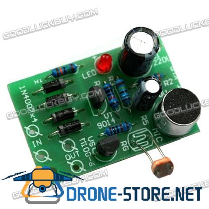 DIY Electronic Kit Sound Light Control Switch Relay Module Kit