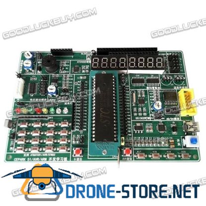 CEPARK 51 AVR ARM Embedded Singlechip 3 in 1 Development Board Kit